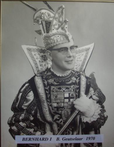 1970 Bernhard I Geutselaar