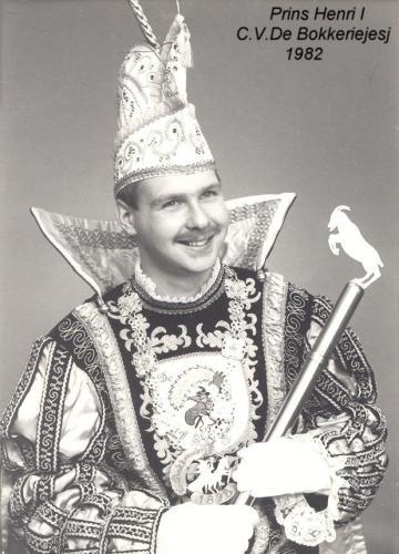 1982 Henri I Keeman