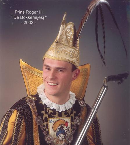 2003 - Roger III Schrooten