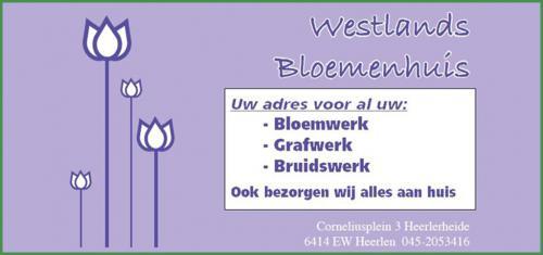 Westlands-bloemenhuis